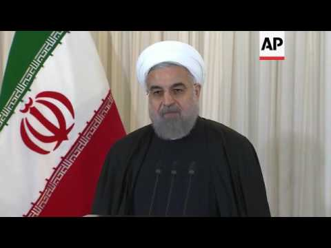 Iran - Iranian Parliament approves nuclear deal bill / Iranian President Hassan Rouhani on closure o