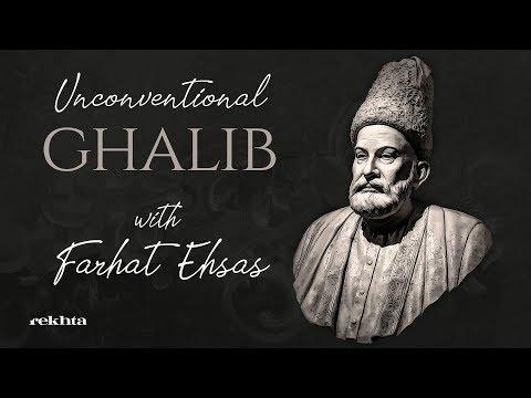 Unconventional 'Ghalib' with Farhat Ehsas   Rekhta Studio