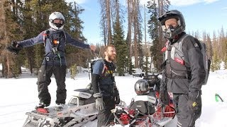 RMAJ | Things to do in Colorado | Backcountry Snowmobiling | Mountain Skillz
