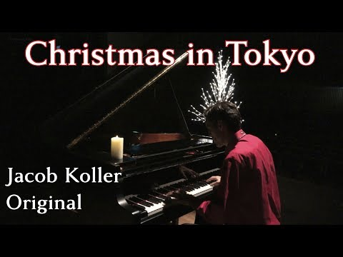 Jacob Koller - Christmas in Tokyo - Original Piano Composition with Sheet Music