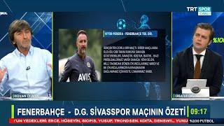Rıdvan Dilmen ve Erbatur Ergenekon ile %100 Futbol | Fenerbahçe-D.G Sivasspor |