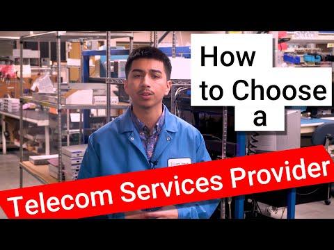 How To Choose A Telecom Services Provider