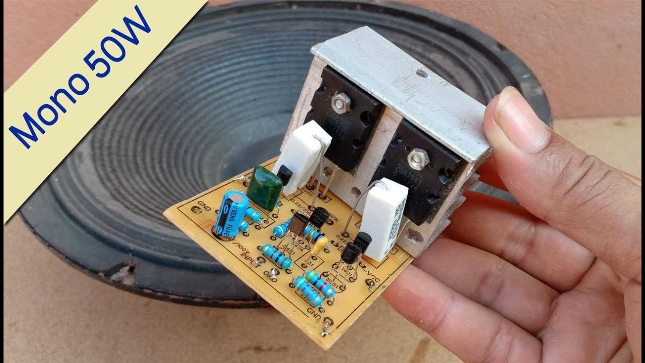 Pcb Layout 2sc5200 2sa1943 Amplifier Circuit Diagram Pcb ...