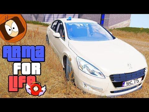 BRIGADE ANTI-CRIMINALITÉ : PATROUILLE EN 508 GT !   ARMA FOR LIFE