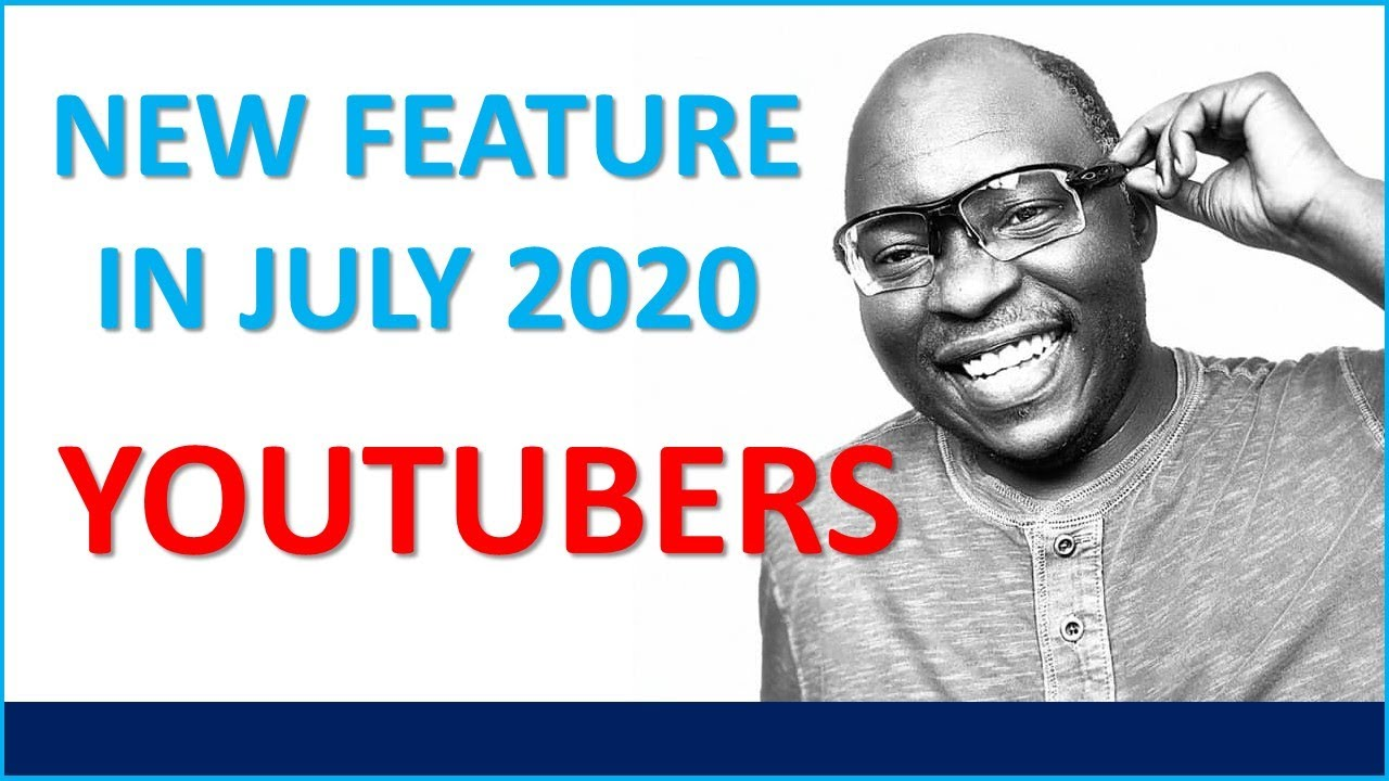 BREAKING NEWS: YouTube has released new feature for YouTubers (Creators) in July 2020. GAME CHANGER