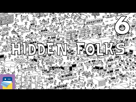 Hidden Folks: iOS iPad Air 2 Gameplay Walkthrough Part 6 (by Adriaan de Jongh)