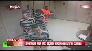 Mahkumlar Gardiyanın Hayatını Kurtardı
