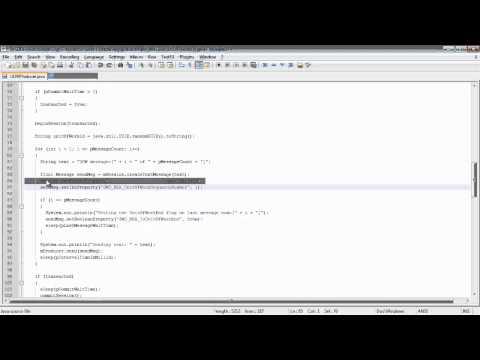 WebLogic Advanced JMS: Unit Of Work
