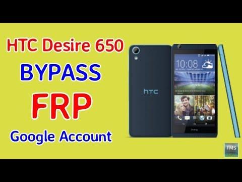 HTC Desire 650 FRP Lock Remove Google Account BYpass 2017 Easy Method 100%+