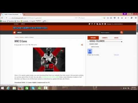How To Download WWE 13 For PC - Game Full Version