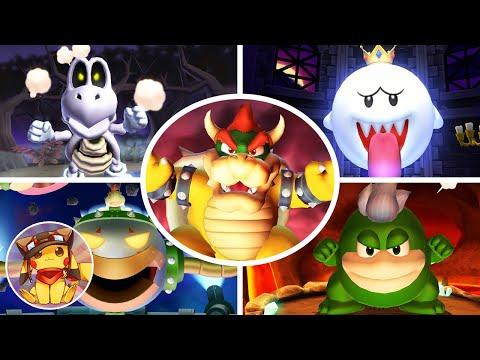 All Boss Fights & Final Boss - Mario Party 9 (Boss Rush) [1080p]