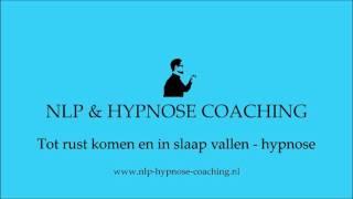 Tot rust komen en in slaap vallen hypnose