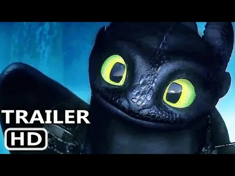 How to Train your Dragon Part-3 Official Trailer 2018,2019. New Animation Movie in 2019. Movie Scene