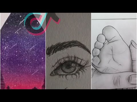 Tik Tok Art And Art Tutorials