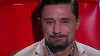 Шоу голос Билан  плачет