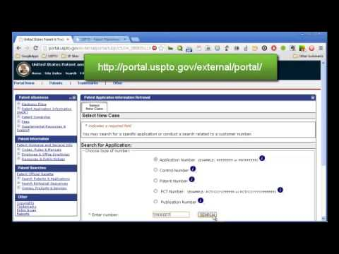 How to Check the Status of Patent Applications and Patents in Public PAIR