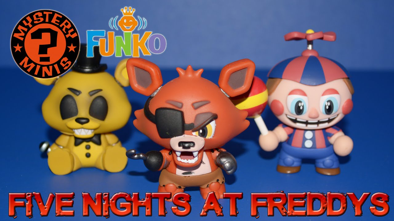 Five Nights At Freddy's - Funko Mystery Minis (12 Blind Boxes) - 4K