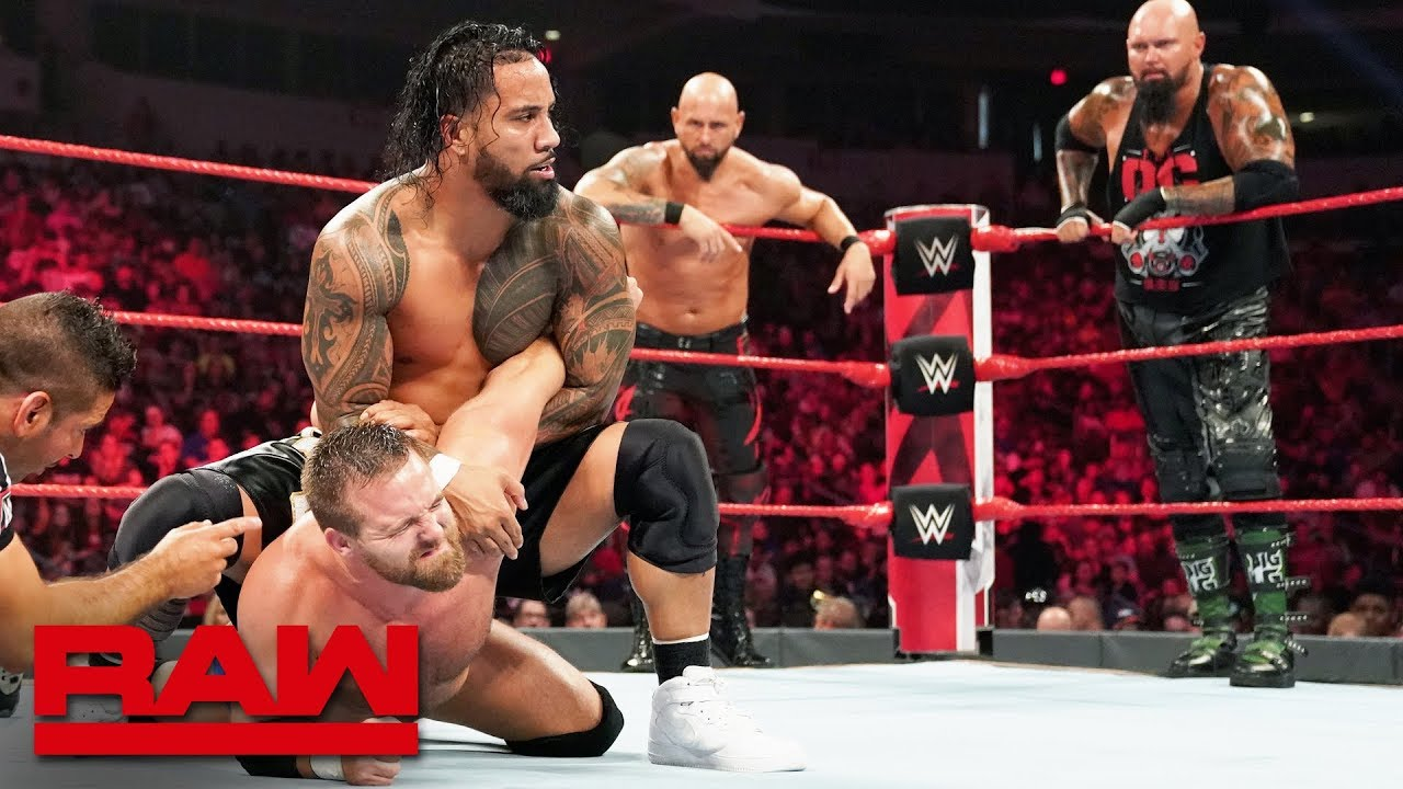 The Revival vs. The Usos vs. Gallows & Anderson – Raw Tag Team Title Match: Raw, July 29, 2019