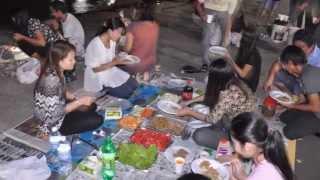 Barbecue at Sembawang Park