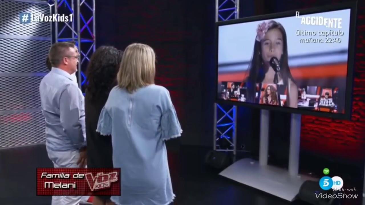 Melani Garcia Anuncio de la Voz Kids