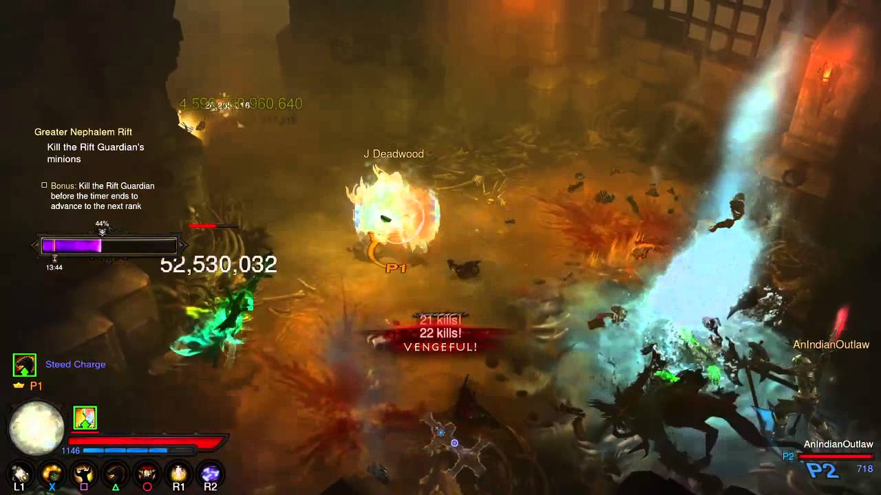 Diablo 3 PS4 Hacked Legendary Gems
