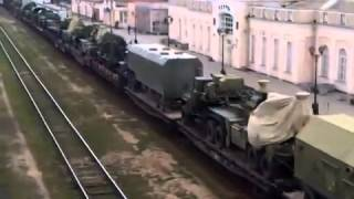 S-300 surface-to-air missile Russian army railway Kerch Ferry 15 March 2014