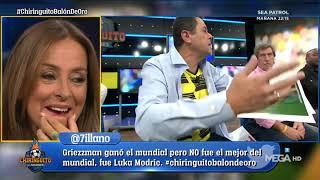 Roncero repasa los ÚLTIMOS FRACASOS de Messi en Champions