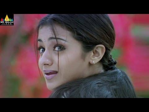 Nuvvostanante Nenoddantana Movie Scenes   Siddhartha Helps Trisha   Sri Balaji Video
