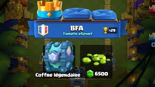clash Royal PACK OPENING I open my coffers! LEGENDARY GUARANTEE