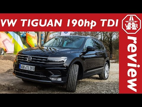 2016 Volkswagen VW Tiguan 2.0 TDI 190hp driving impressions