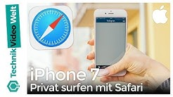 iPhone 7 Privat surfen mit Safari