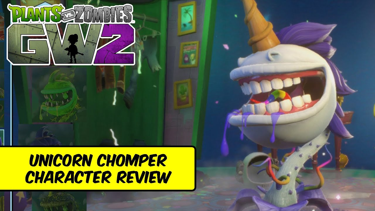Plants vs zombies garden warfare 2 unicorn chomper - Plants vs zombies garden warfare 2 review ...