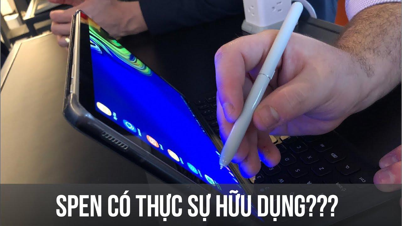 """Bút """"Điện tử"""" Spen có thực sự cần thiết đối với người dùng?"""