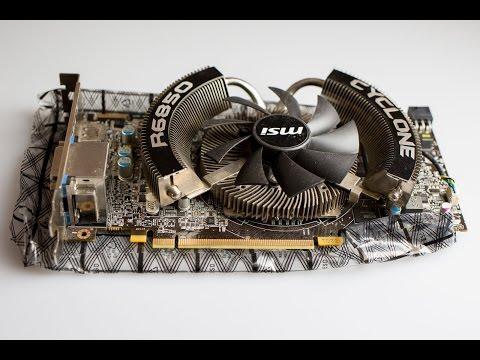 ამანათი №5 - MSI Radeon HD R6850 Cyclone Edition