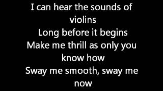 Michael Buble Sway Lyrics