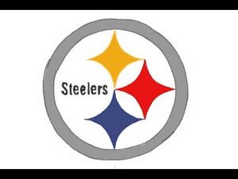 How To Draw Steelers Logo Pittsburgh Steelers Nfl Team Logo Youtube
