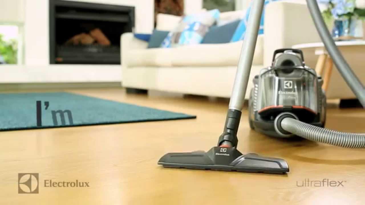 electrolux ultraflex bagless canister vacuum youtube. Black Bedroom Furniture Sets. Home Design Ideas