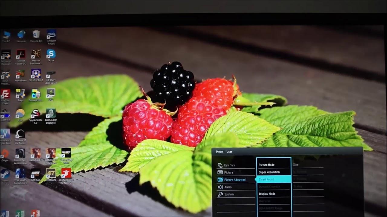BenQ EL2870U Review   PC Monitors