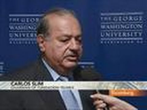 Carlos Slim `Very Happy' With New York Times Investment