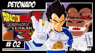 Dragon Ball Z Budokai Tenkaichi 3 DETONADO #2 Saga Saiyajin Parte 2 - Vegeta Vs Goku【Full HD 60 FPS】