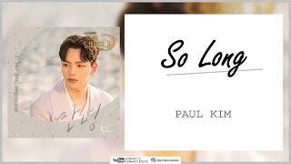 Paul Kim - So Long (OST Hotel Del Luna Part 10) Easy Lyrics + Indo Sub by GOMAWO