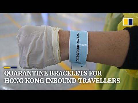 Quarantine bracelets for