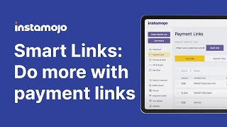 Instamojo Smart Links: Do more with payment links