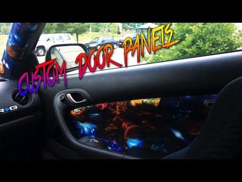 Acura RSX - Custom Door Panels [FABRICATION]