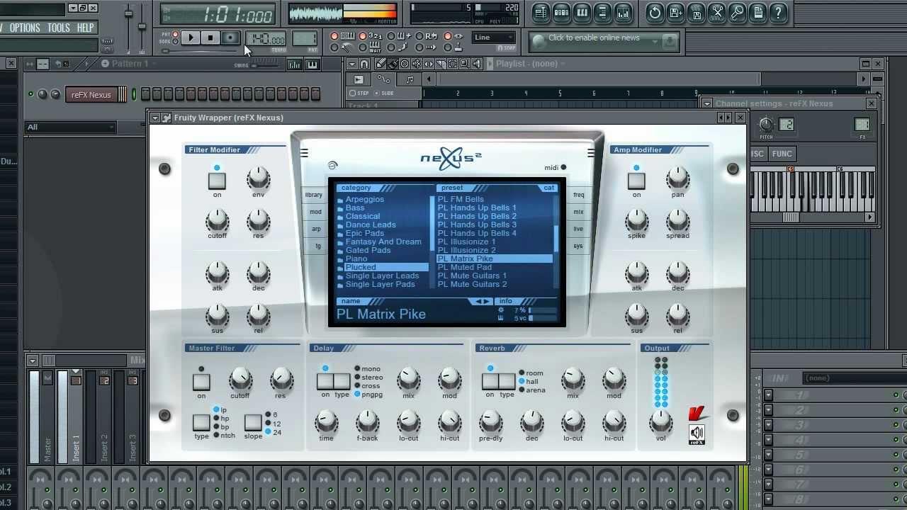 fl studio nexus free