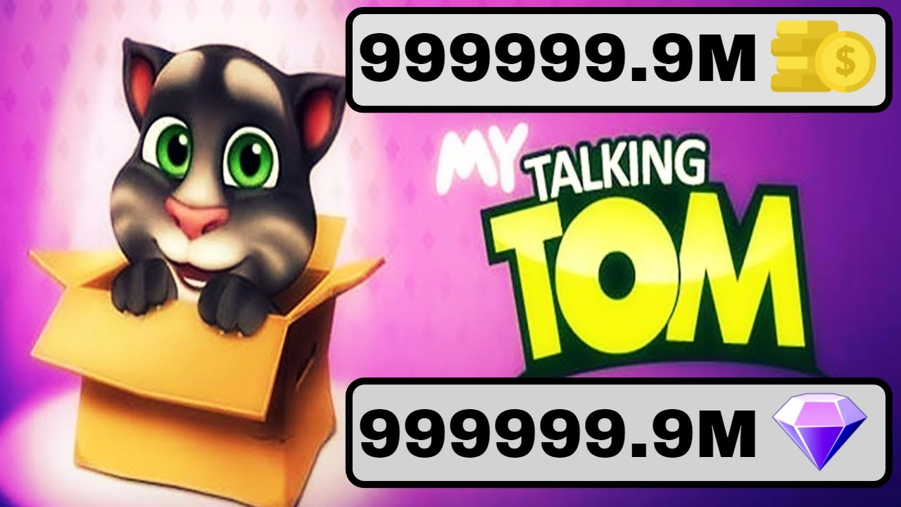 my talking tom mod apk unlimited money and gems