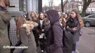 James TW  Fans  @  The Backstage Hotel Amsterdam Netherlands