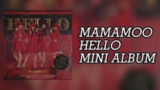 MAMAMOO (마마무) - HELLO [1ST'MINI ALBUM]