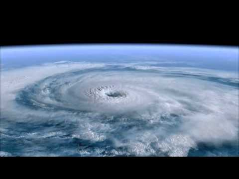 [10 Hours] Hurricane from Space with ISS Sounds [1080HD] SlowTV
