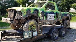 Derby Aftermath - F250 Super Duty Derby Truck - Williams County (2018)